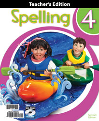 Spelling 4 Teacher's Edition with CD (2nd ed.)
