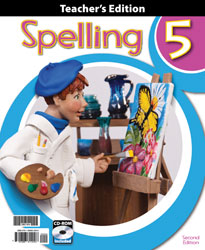 Spelling 5 Teacher's Edition with CD (2nd ed.)