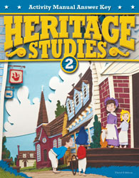 Heritage Studies 2 Student Activity Manual Answer Key (3rd ed.)