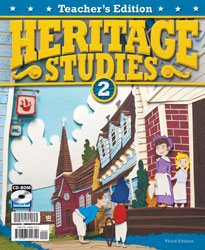 Heritage Studies 2 Teacher's Edition with CD (3rd ed.)