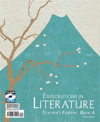 Explorations in Literature Teacher's Edition with CD (4th ed., 2 vols.)