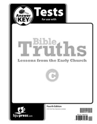 Bible Truths C Tests Answer Key (4th ed.)