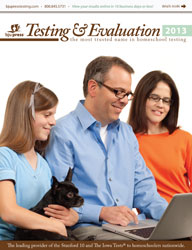 2013 Testing & Evaluation Catalog