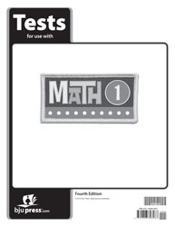 Math 1 Tests (4th ed.)