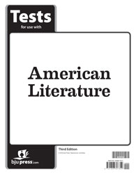 American Literature Tests (3rd ed.)