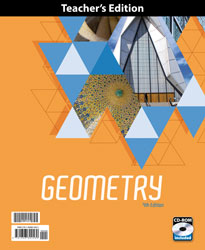 Geometry Teacher's Edition with CD (4th ed.; 2 vols.)