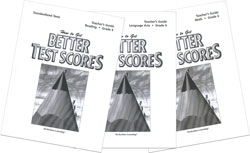 Better Test Scores: Grade 6 Teacher Kit