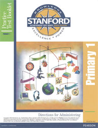 Stanford Practice Test Directions: Primary 1 (Grade 1 Spring-Grade 2 Fall, for school purchase)