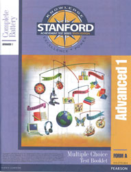 Stanford Advanced 1 Test Booklet (Form A, for school purchase)