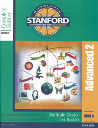 Stanford Advanced 2 Test Booklet (Form A, for school purchase)