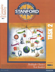 Stanford TASK 2 Test Booklet (Form A, for school purchase)