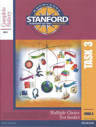 Stanford TASK 3 Test Booklet (Form A, for school purchase)