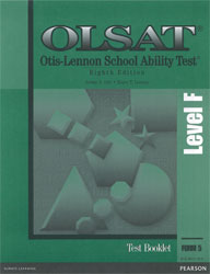 OLSAT Level F Test Booklet (Form 5, for school purchase)