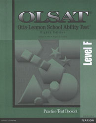 OLSAT Practice Test: Level F (for school purchase)