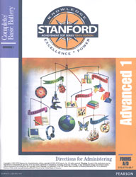 Stanford Advanced 1 Directions (for school purchase)