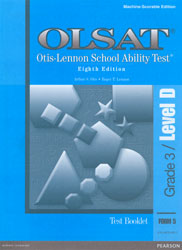 OLSAT Level D Test Booklet (Form 5, for school purchase)