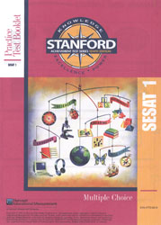 Stanford Practice Test: SESAT 1 (K5 Fall; for school purchase)