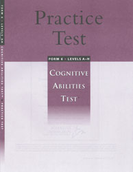 CogAT Practice Test: Levels A-H (Grades 3-12, for school purchase)
