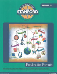 Stanford Preview for Parents: Advanced 1/2 (for school purchase)
