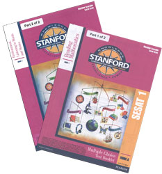 Stanford SESAT 1 Test Booklet Set (Form A, for school purchase)