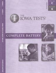 ITBS Level 6 Test Booklet (Form C, for school purchase)