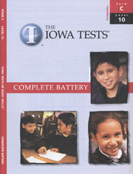 ITBS Level 10 Test Booklet (Form C, for school purchase)