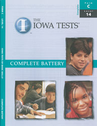 ITBS Level 14 Test Booklet (Form C, for school purchase)