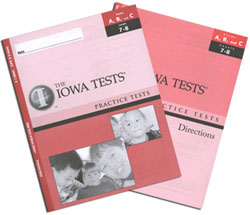 Practice Test Kit ITBS: Grades 1 Spring-3 Fall (Levels 7-8, teacher & student)