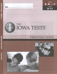 ITBS Forms A/B/C Practice Test: Levels 9-11 (Grades 3-5, for school purchase)