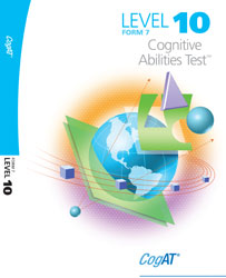 CogAT Form 7: Level 10 Test Booklet (for school purchase)