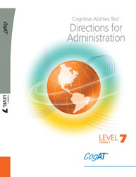 CogAT Form 7: Level 7 Directions (for school purchase)