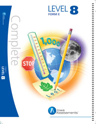 Iowa Assessments Form E: Level 8 Achievement Test Booklet (for school purchase)