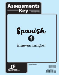 Spanish 1 Tests Answer Key (3rd ed.)