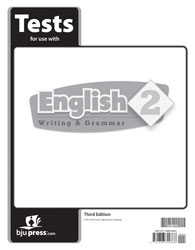 English 2 Tests (3rd ed., Available July 1, 2017)