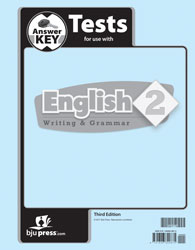 English Tests Answer Key (3rd ed., Available July 1, 2017)