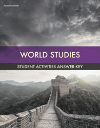 World Studies Student Activity Manual Answer Key (4th ed.)