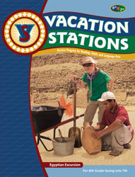 Vacation Stations: Egyptian Excursion (copyright update; for rising 7th graders)