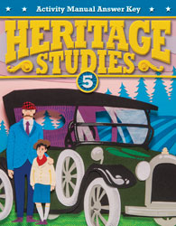 Heritage Studies 5 Student Activity Manual Answer Key (4th ed.)