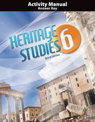 Bju heritage studies grade 6 student activity manual 3rd edition.