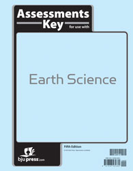 Earth Science Tests Answer Key (5th ed.)