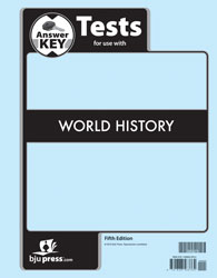 World History Tests Answer Key (5th ed.)