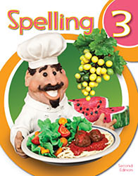 Spelling 3 Student Worktext (2nd ed.; copyright update)