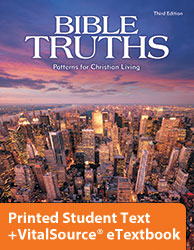Bible Truths Level F eTextbook & Printed Student Text (3rd ed.)