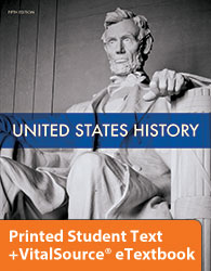 US History eTextbook & Printed Student Text (5th ed.)