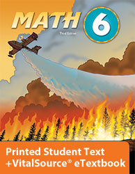 Math 6 eTextbook & Printed ST (3rd ed.; copyright update)