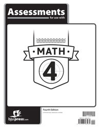 Math 4 Assessments (4th ed.)