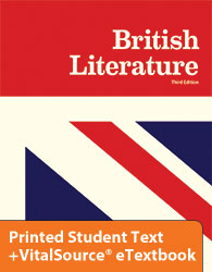 British Literature eTextbook & Printed ST (3rd ed.)
