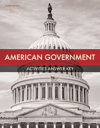 American Government Student Activities Answer Key (4th ed.)