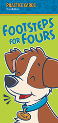 Footsteps for Fours Practice Cards, 3rd ed.