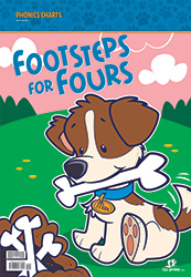 Footsteps for Fours Phonics Charts, 3rd ed.